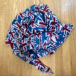 United Kingdom Britain Flag Scarf Lightweight